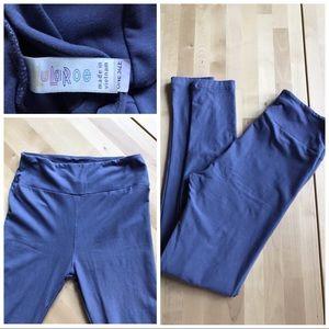 Lularoe grey-lavender leggings XS-S